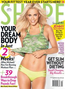 JENNY McCARTHY in Shape Magazine